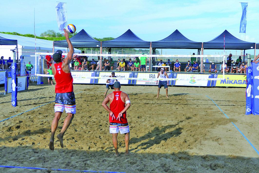 In spiaggia a Caorle le finali nazionali del Beach Volley