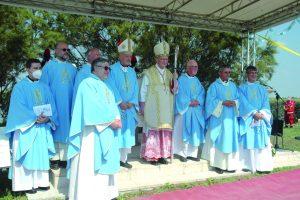 Cardinal Parolin in visita alla Laguna di Caorle